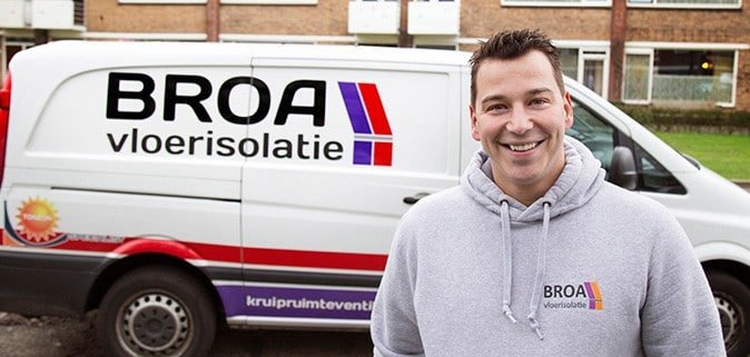 Vloerisolatie specialist Niels van den Broek