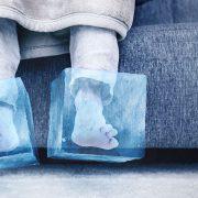 Koude voeten door koude vloer, slechte vloerisolatie