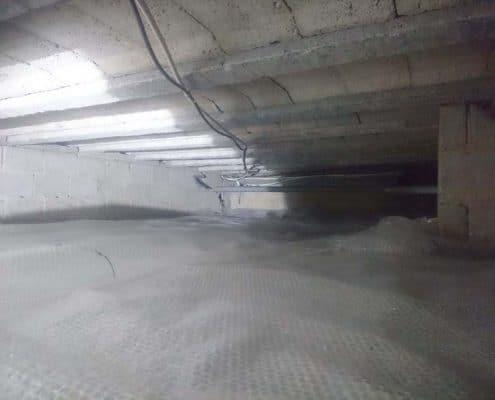 Kruipruimte isolatie en ventilatie Landgraaf