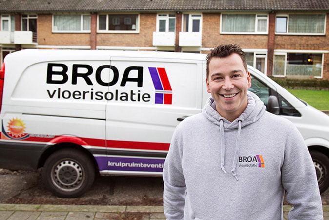 Vloerisolatie specialist in Weert | BROA Vloerisolatie