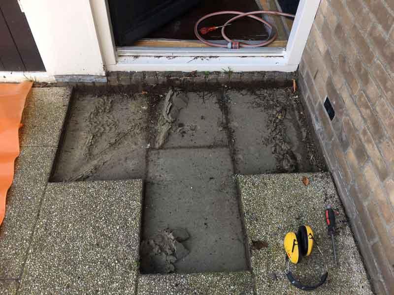 Kruipruimte ventilatie in Luyksgestel