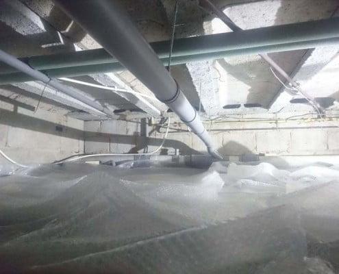 Kruipkelder ventilatie Turnhout