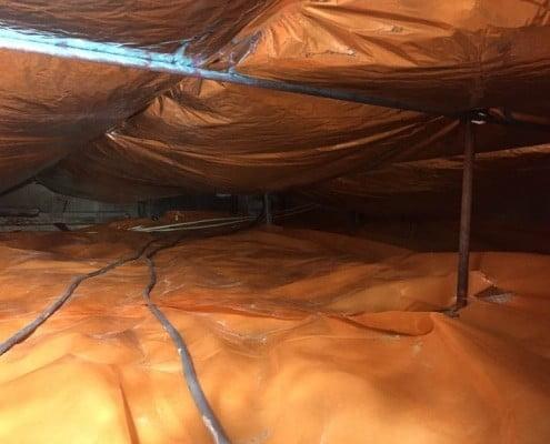 Kruipruimte ventilatie en isolatie
