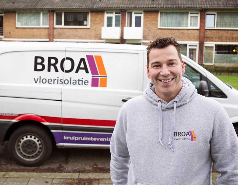 Vloerisolatie specialist: Niels van den Broek