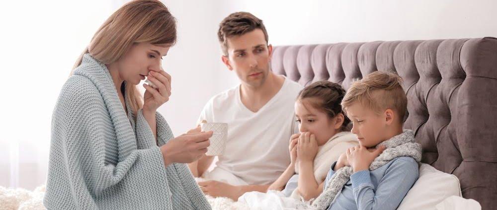 vocht in de kruipruimte oorzaak gezondheidsklachten in huis tijdens Corona