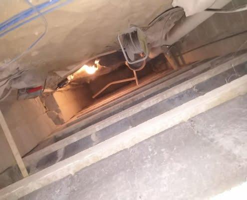 Lage energiekosten door vloerisolatie in Rijen