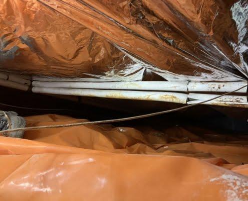 Milieuvriendelijk huis door vloerisolatie in Boxtel