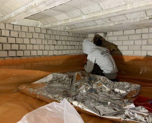 Lage energiekosten door vloerisolatie in Malden