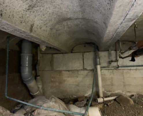 Stank verholpen door kruipruimte ventilatie in Nieuw Beijerland