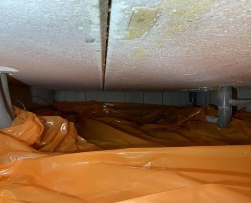 Warme vloer door vloerisolatie in Dommelen