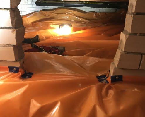 Warme vloer door vloerisolatie in Hedel