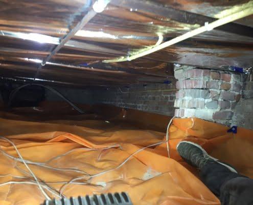 Warme vloer door vloerisolatie in Oudenbosch
