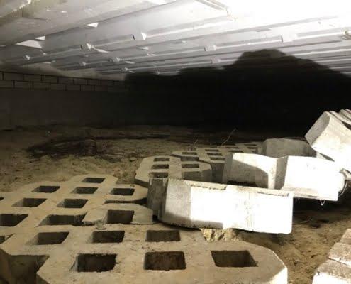 Kruipruimte ventilatie gaat schimmels tegen in Tilburg