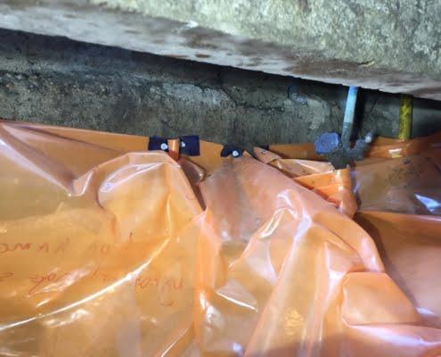 Kruipruimte ventilatie gaat schimmels tegen in Veghel