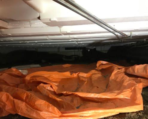 Warme vloer door vloerisolatie in Alblasserdam