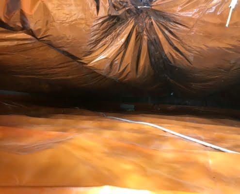 Warme vloer door vloerisolatie in 's-Hertogenbosch