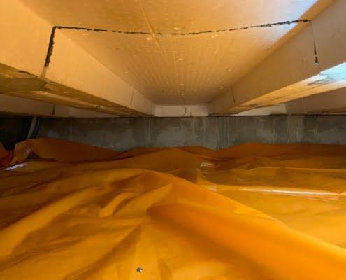 Kruipruimte isoleren in Schijndel