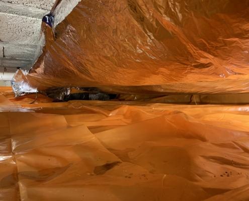 Kruipruimte ventilatie in Wormerveer