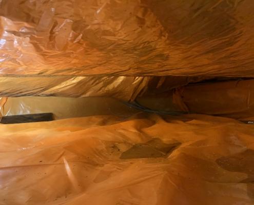 Kruipruimte ventilatie verhelpt vochtproblemen in Wormerveer