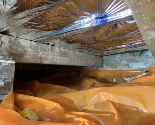 Lage energiekosten door vloerisolatie in Prinsenbeek