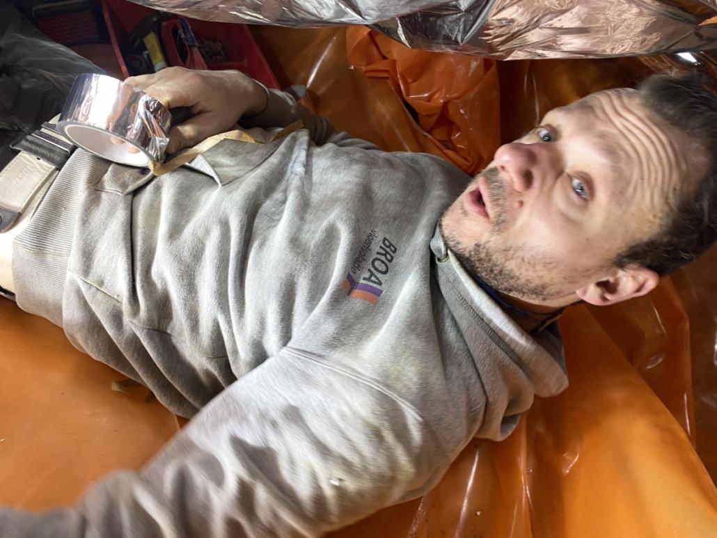 Stank verholpen door kruipruimte ventilatie in Roosendaal
