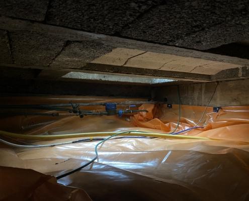 Stank verholpen door kruipruimte ventilatie in Vianen