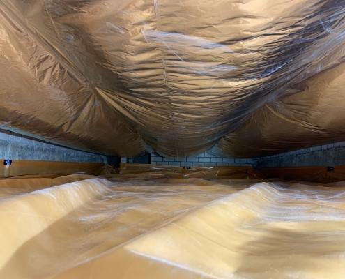 Warme vloer door vloerisolatie in Boxtel