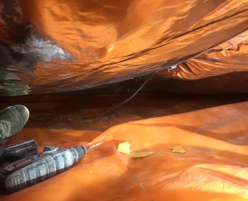 Warme vloer door vloerisolatie in Waalwijk