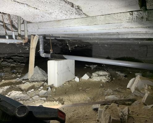 Milieuvriendelijk huis door vloerisolatie in Rosmalen