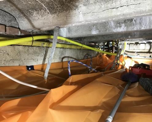 Stank verholpen door kruipruimte ventilatie in Oud-Beijerland