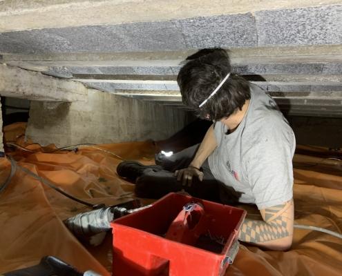 Warme vloer door vloerisolatie in Oosterhout