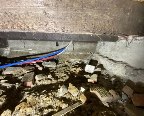 Kruipruimte isoleren in Oisterwijk