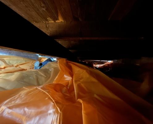 Milieuvriendelijk huis door vloerisolatie in Oisterwijk
