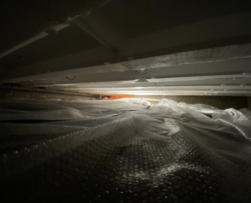 Warme vloer door vloerisolatie in Echt