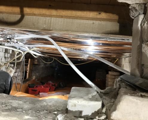 Kruipruimte ventilatie verhelpt vochtproblemen in Den Haag