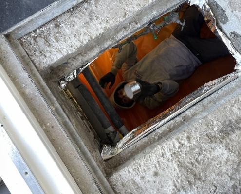 TONZON vloerisolatie in Barendrecht