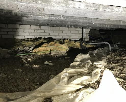Lage energiekosten door vloerisolatie in Raamsdonksveer