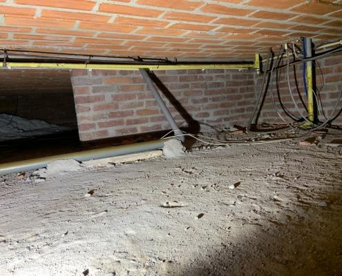 Milieuvriendelijk huis door vloerisolatie in Roermond