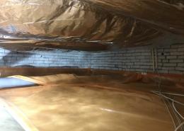 Warme vloer door vloerisolatie in Zwartewaal