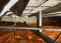 Kruipruimte ventilatie in Vught